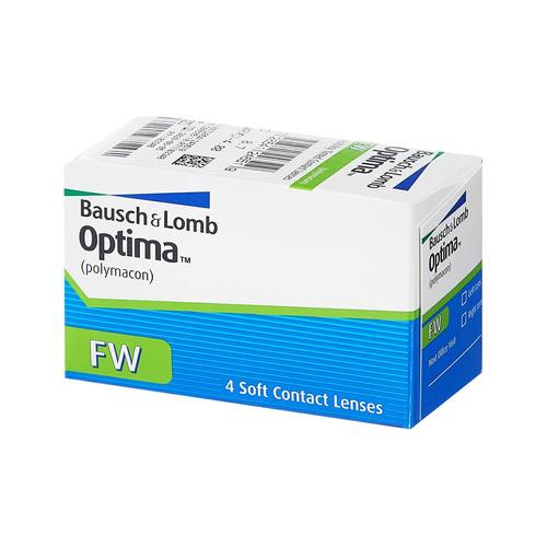 Контактные линзы Bausch + Lomb Optima FW 8.4мм -4 уп.:4шт
