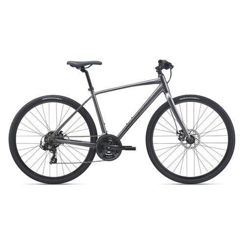 Фото - Велосипед Giant Escape 3 Disc городской рам.:23 кол.:28 черный 10кг (2100118117) велосипед giant escape 3 disc 2021 металик черный m