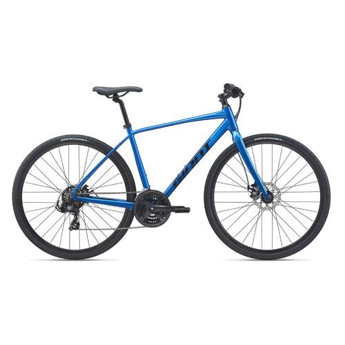 Фото - Велосипед Giant Escape 3 Disc городской рам.:22 кол.:28 синий 9.5кг (2100118215) велосипед giant escape 3 disc 2021 металик черный m