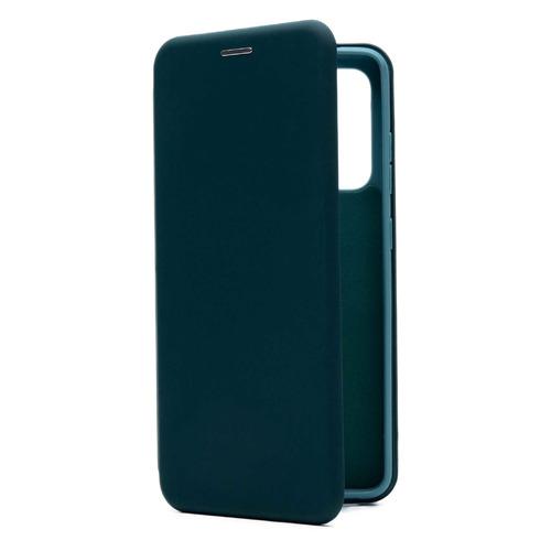 Фото - Чехол (флип-кейс) BORASCO Shell Case, для Samsung Galaxy A52, зеленый [39861] чехол флип кейс borasco shell case для samsung galaxy m21 зеленый [39139]