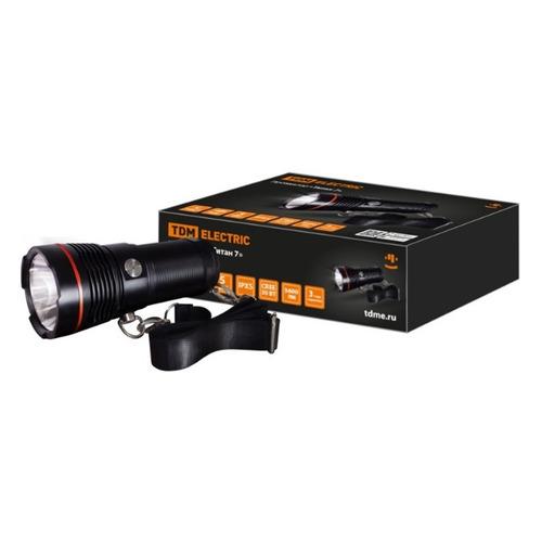 Ручной фонарь TDM ELECTRIC Титан 7, оранжевый [sq0350-0067]