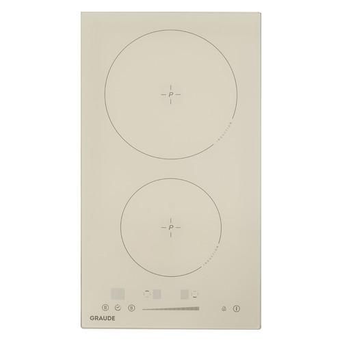 Индукционная варочная панель GRAUDE IK 30.1 C, индукционная, независимая, бежевый