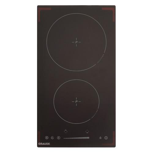 Индукционная варочная панель GRAUDE IK 30.1 S, индукционная, независимая, черный