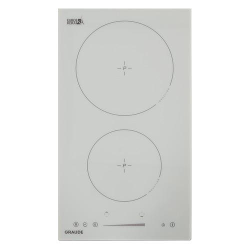 Индукционная варочная панель GRAUDE IK 30.1 W, индукционная, независимая, белый