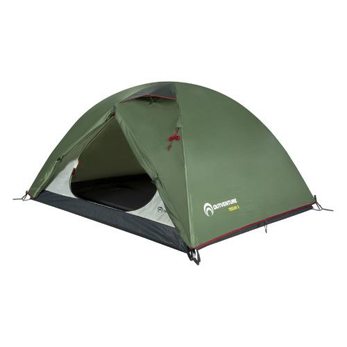 Палатка Outventure Teslin 3 турист. 3мест. темно-зеленый (S19EOUOT028-74) палатка indiana veracruz 3