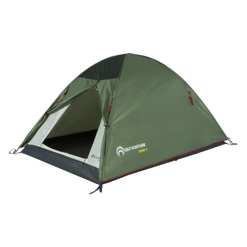Палатка Outventure Dome 2 турист. 2мест. темно-зеленый (S19EOUOT015-74)