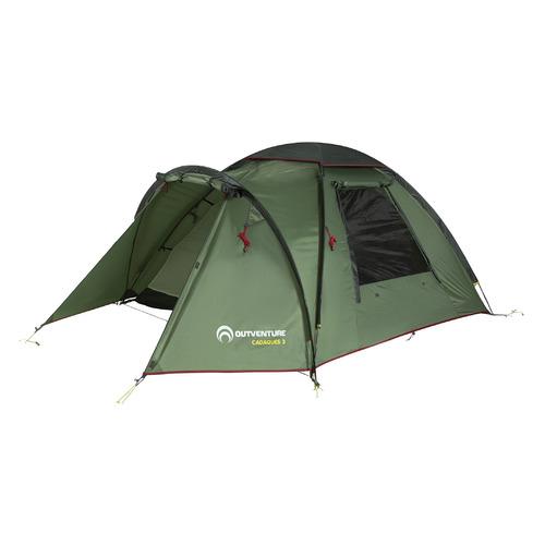 Палатка Outventure Cadaques 3 турист. 3мест. темно-зеленый (S19EOUOT017-74)