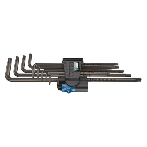 Набор ключей WERA WE-024450, 9 предметов