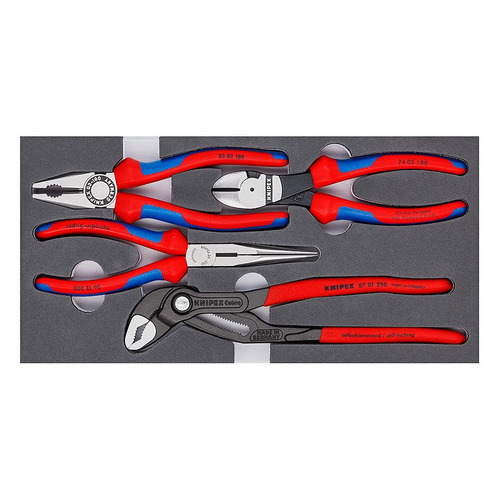 Набор инструментов KNIPEX KN-002001V15, 4 предмета