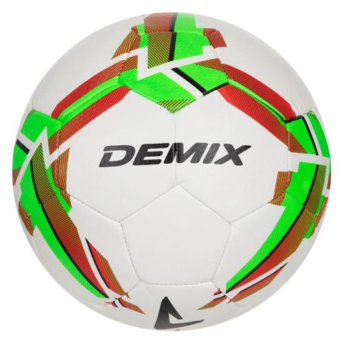 Мяч футб. Demix 1STLS1JWWW р.4 2018/2019 универс. белый/зеленый (S19EDEAT003-WU)