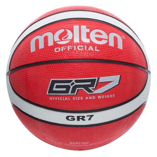 Мяч баскетбольный MOLTEN BGR7-RW, универсальный, мультиколор [bgr7-rw-.]