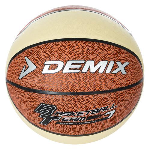 Мяч баск. Demix DEAT020FC7 р.7 2020/2021 для зала 650гр коричневый/бежевый (S18EDEAT020-FC)