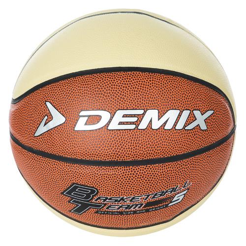 Мяч баск. Demix Team р.5 2020/2021 для зала 540гр коричневый/бежевый (S18EDEAT021-FC)