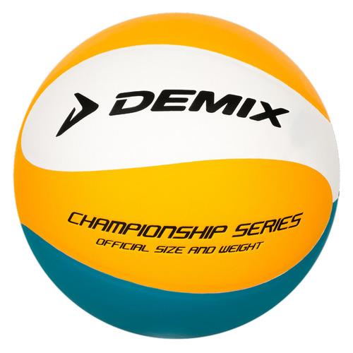 Мяч волей. Demix NVLKTKM09F р.5 2020/2021 для зала оранжевый/зеленый (S20EDEAT006-EU)