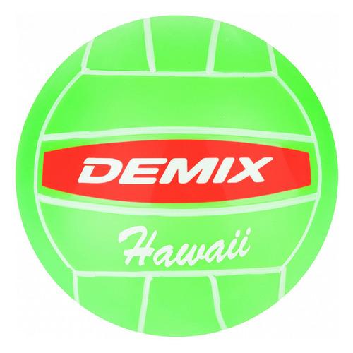 Фото - Мяч волей. Demix VPB5-G65 р.5 2020/2021 для пляжа зеленый (VPB5-G6) demix лонгслив женский demix размер 42 44