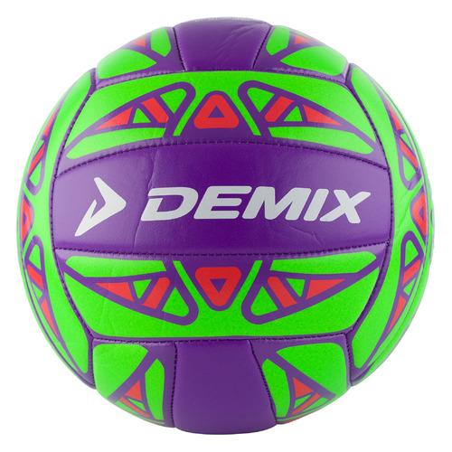 Мяч волей. Demix VMPVCTRUL5 р.5 2020/2021 для пляжа зеленый/фиолетовый (VMPVCTR-UL)