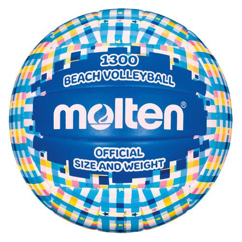 Мяч волей. Molten 8QTVZNUKP4 р.5 для пляжа мультиколор (V5B1300-CB-.) недорого