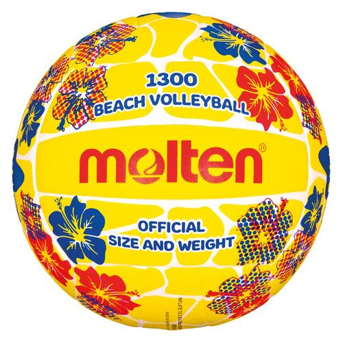 Мяч волей. Molten 719QX2RHRB р.5 для пляжа мультиколор (V5B1300-FY-.) недорого