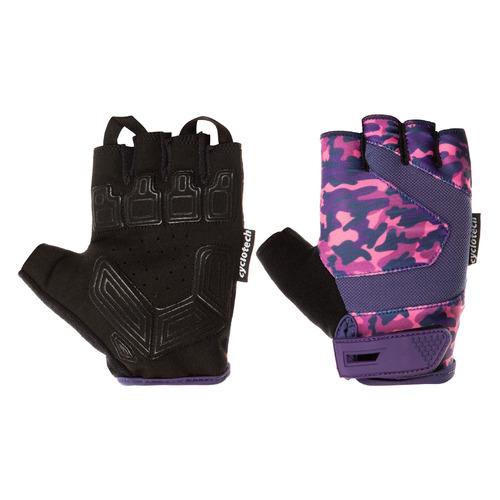 Перчатки велосипедные Cyclotech Razor жен. M черный/розовый (S20ECYGL010-BK)