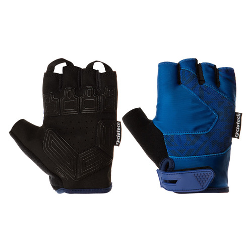 Перчатки велосипедные Cyclotech Razor муж. M черный/синий (S20ECYGL010-BM)