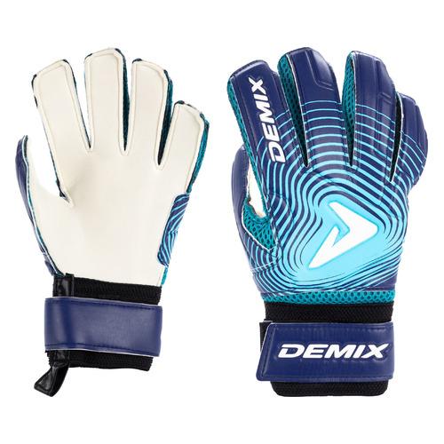 Перчатки вратарские Demix EDEAU01M27 муж. 7 синий (S19EDEAU001-M2)