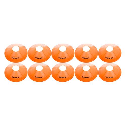 Фото - Фишки Demix D2-10pc (футб.) оранжевый (DPDM10-D2) demix лонгслив женский demix размер 42 44
