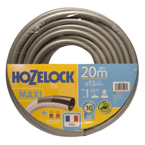 Шланг HoZelock Tricoflex Maxi 171207 1/2 20м поливочный армированный серый (Б0046556) шланг hozelock 116242 tricoflex ultramax 1 2 25m