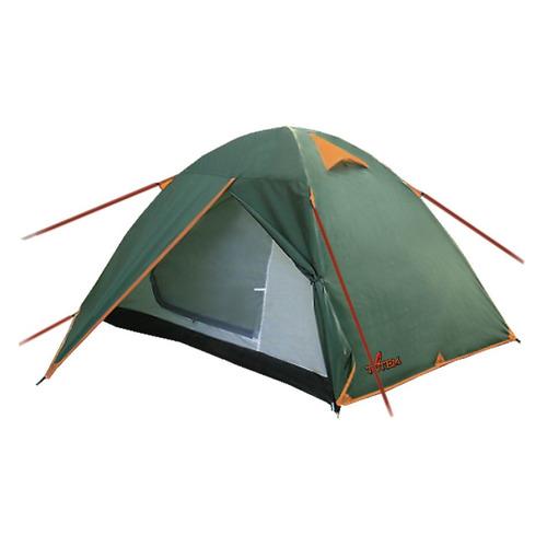Палатка Totem Trek 2 (V2) турист. 2мест. зеленый