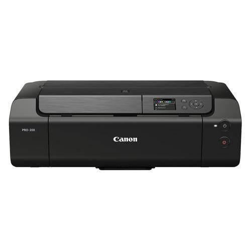 Фото - Принтер струйный CANON Pixma PRO-200 EUM/EMB, черный [4280c009] мфу струйный canon pixma g3460 a4 цветной струйный черный [4468c009]