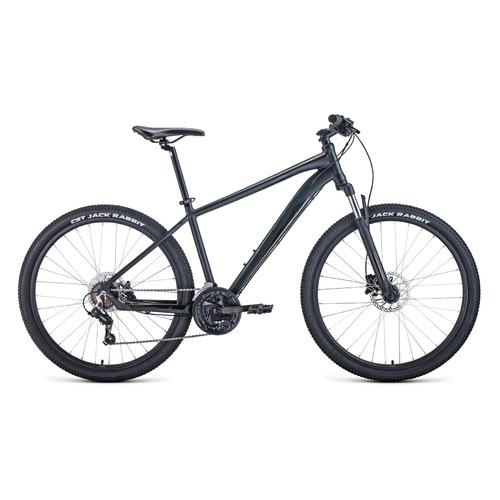 Фото - Велосипед Forward Apache 27,5 3.2 disc (2021) горный рам.:21 кол.:27.5 черный/черный 15.3кг (RBKW1 велосипед giant escape 3 disc 2021 металик черный m