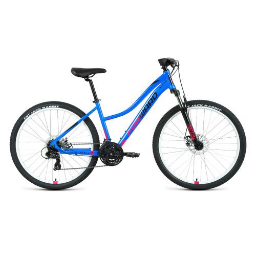 """Велосипед Forward Jade 27,5 2.2 (2021) горный рам.:16.5"""" кол.:27.5"""" голубой/розовый 15кг (RBKW1M37G0"""