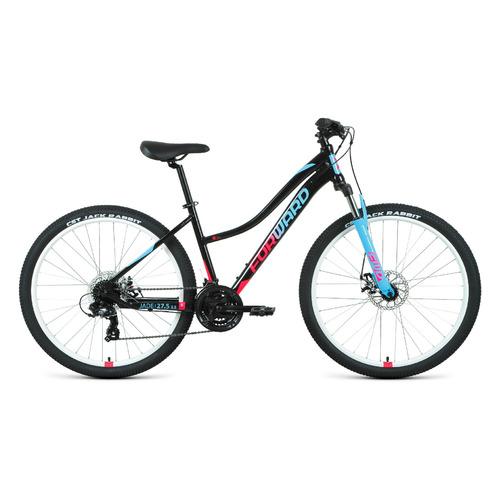 """Велосипед Forward Jade 27,5 2.2 (2021) горный рам.:16.5"""" кол.:27.5"""" черный/розовый 15кг (RBKW1M37G06"""
