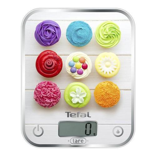 Весы кухонные TEFAL BC5122V1, белый/рисунок