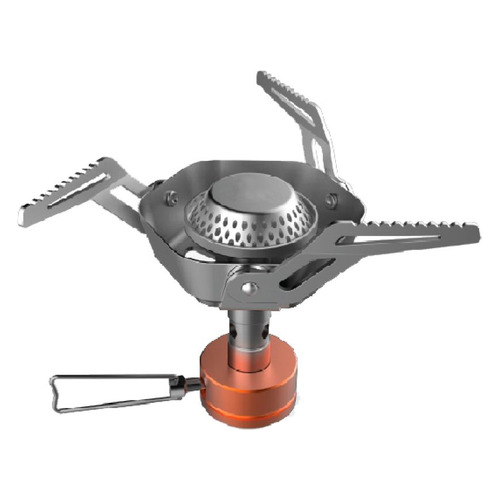 Горелка турист. Tramp TRG-041 газовая серебристый сталь/алюминий 2600W 140x140x95мм 147гр