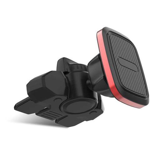 Держатель DF Auto-02 магнитный черный для смартфонов (DF AUTO-02)