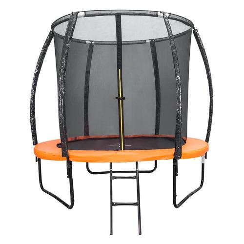Фото - Батут DFC 8FT-BAS-BO d=243.8см черный/оранжевый каркасный батут dfc trampoline kengoo ii 16ft bas bo оранжевый