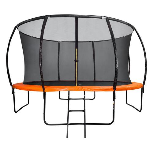 Фото - Батут DFC 14FT-BAS-BO d=426.72см черный/оранжевый каркасный батут dfc trampoline kengoo ii 16ft bas bo оранжевый
