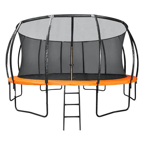 Фото - Батут DFC 16FT-BAS-BO d=487.68см черный/оранжевый каркасный батут dfc trampoline kengoo ii 16ft bas bo оранжевый