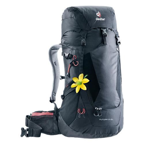 Фото - Рюкзак турист. Deuter Futura 24 SL (2021) 24л. черный (3400218_7000) рюкзак вел deuter trans alpine 28 sl 2020 2021 жен 28л розовый 3205120 5563