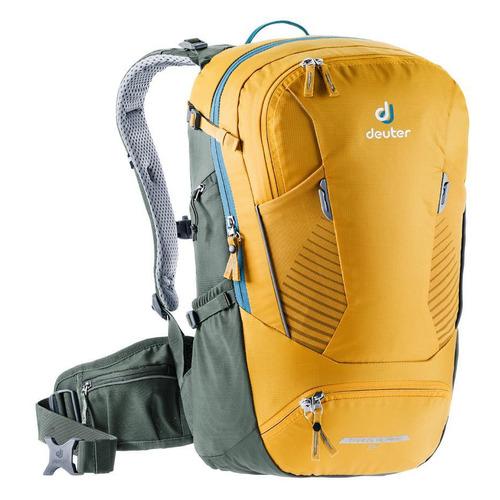Фото - Рюкзак вел. Deuter Trans Alpine 24 (2020/2021) 24л. желтый (3205020_9203) рюкзак вел deuter trans alpine 28 sl 2020 2021 жен 28л розовый 3205120 5563