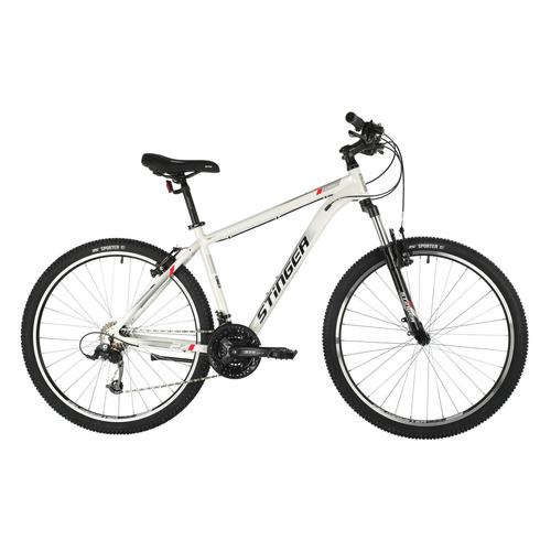 Велосипед Stinger Element Std 27.5 Microshift (2021) горный рам.:16 кол.:27.5 белый 14.9кг (27AHV.