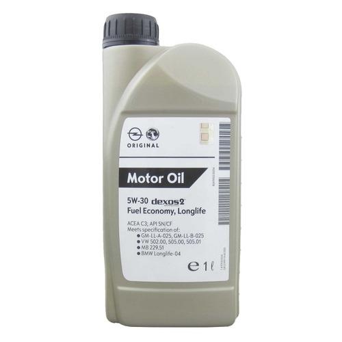 Моторное масло GM Dexos 2 5W-30 1л. синтетическое [93165554]