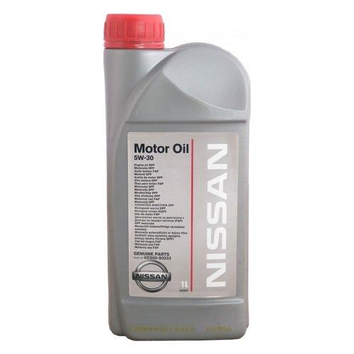 Фото - Моторное масло NISSAN Motor Oil 5W-30 1л. синтетическое [ke900-99933r] моторное масло mitsubishi genuine oil 5w 30 1л синтетическое [mz320756]