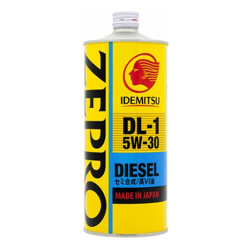 Моторное масло IDEMITSU Zepro Diesel DL-1 5W-30 1л. полусинтетическое [2156001]