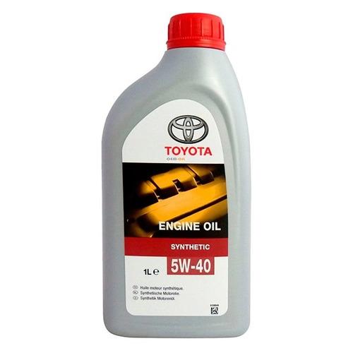 Фото - Моторное масло Toyota Engine oil 5W-40 1л. синтетическое [08880-80376-go] моторное масло mitsubishi genuine oil 5w 30 1л синтетическое [mz320756]