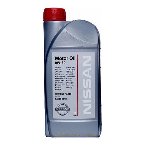 Фото - Моторное масло NISSAN Motor Oil 0W-30 1л. синтетическое [ke900-90132r] моторное масло mitsubishi genuine oil 5w 30 1л синтетическое [mz320756]