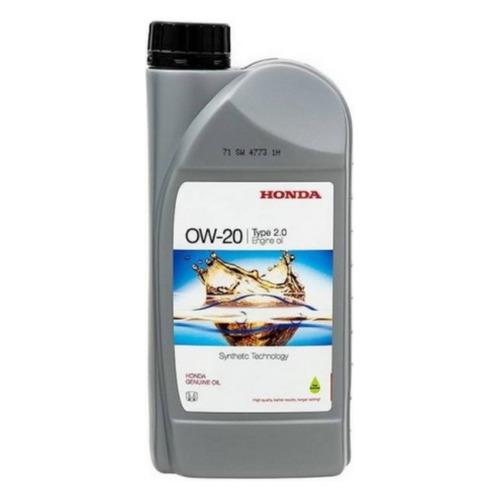 Моторное масло HONDA Engine Oil 0W-20 1л. синтетическое [08232-p99-k1lhe]
