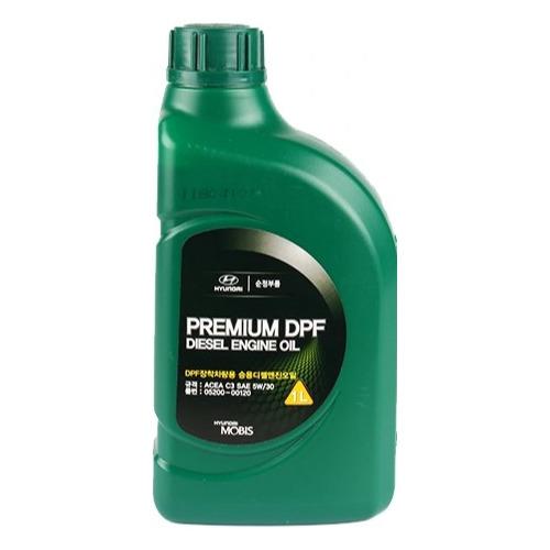 Моторное масло HYUNDAI/KIA Premium DPF Diesel 5W-30 1л. синтетическое [05200-00120]
