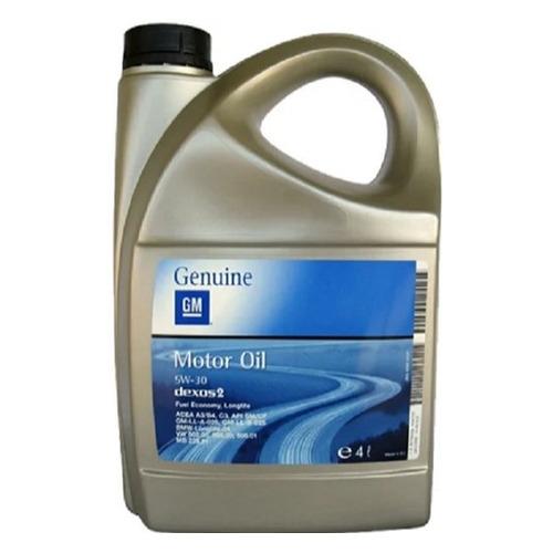Моторное масло GM Лукойл Dexos 2 5W-30 4л. синтетическое [95599404]