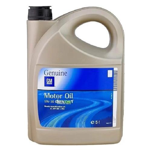 Моторное масло GM Dexos 1 Gen2 5W-30 5л. синтетическое [95599877]